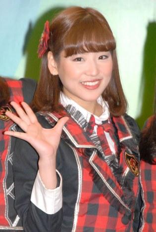 "『JKT48""Enjoy Jakarta大使""任命に関する記者会見』に出席した仲川遥香 (C)ORICON NewS inc."