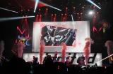 『MBSアニメフェス2014』のオープニングを飾ったのは『機動戦士ガンダムSEED』のT.M.Revolution。『戦国BASARA』のステージにも登場(C)MBS
