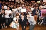 現地ファンも大熱狂! 『Challenge for ASIA by ANA × AKB48 in Taipei 』に出席した(左から)小嶋菜月、北原里英、加藤玲奈