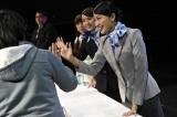 観客との交流を楽しむ北原里英=『Challenge for ASIA by ANA × AKB48 in Taipei 』