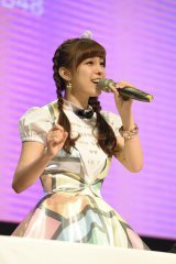"""貴重な生歌を披露した""""歌へた女王""""小嶋菜月=『Challenge for ASIA by ANA × AKB48 in Taipei 』"""