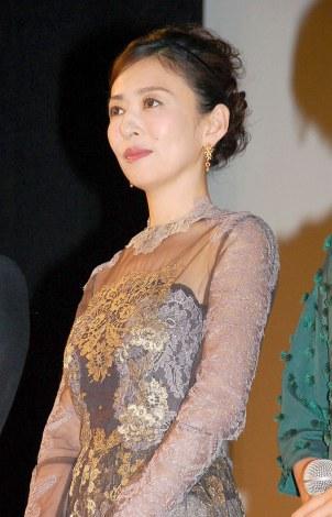 『第1回 京都国際映画祭』 映画『at Home』舞台あいさつに登壇した松雪泰子 (C)ORICON NewS inc.