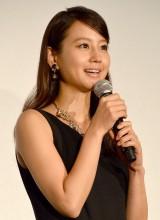 映画『蜩ノ記』大ヒット舞台あいさつに登壇した堀北真希 (C)ORICON NewS inc.
