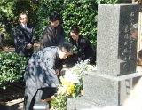 幸四郎の父で初代松本白鸚さんのお墓参り