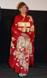京都国際映画祭『摂氏100℃の微熱』舞台挨拶に出席した平愛梨 (C)ORICON NewS inc.