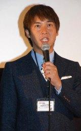 京都国際映画祭『摂氏100℃の微熱』舞台挨拶に出席した松田洋昌 (C)ORICON NewS inc.