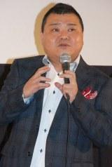 京都国際映画祭『摂氏100℃の微熱』舞台挨拶に出席した川畑泰史 (C)ORICON NewS inc.