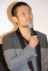 『第1回 京都国際映画祭』 『漫才ギャング』の舞台あいさつに出席した品川ヒロシ監督 (C)ORICON NewS inc.
