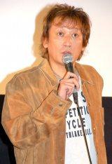 『第1回 京都国際映画祭』 『漫才ギャング』の舞台あいさつに出席した長原成樹 (C)ORICON NewS inc.