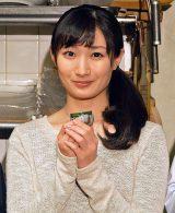 BSジャパン初の連ドラ『ワカコ酒』制作発表記者会見に出席した武田梨奈 (C)ORICON NewS inc.