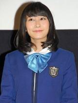 『第1回 京都国際映画祭』で映画『げいにん!THE MOVIE リターンズ 卒業!お笑い青春ガールズ!!新たなる旅立ち』の舞台あいさつに出席したNMB48の矢倉楓子 (C)ORICON NewS inc.