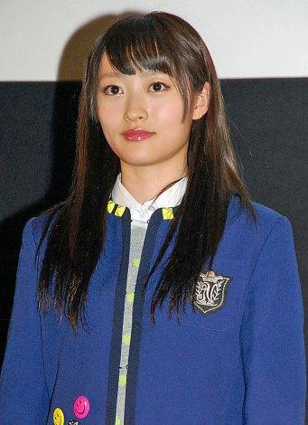 『第1回 京都国際映画祭』で映画『げいにん!THE MOVIE リターンズ 卒業!お笑い青春ガールズ!!新たなる旅立ち』の舞台あいさつに出席したNMB48の小谷里歩 (C)ORICON NewS inc.