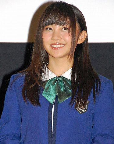 『第1回 京都国際映画祭』で映画『げいにん!THE MOVIE リターンズ 卒業!お笑い青春ガールズ!!新たなる旅立ち』の舞台あいさつに出席したNMB48の薮下柊 (C)ORICON NewS inc.