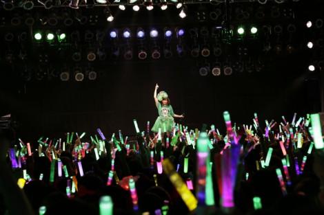 『チビッ子祭り2014』発案者の有安杏果(18日・熊本B.9 V1)