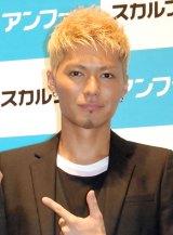 『スカルプD薬用スカルプシャンプー』新テレビCM発表イベントに出席したEXILE SHOKICHI (C)ORICON NewS inc.