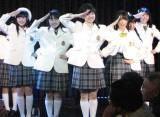 卒業ライブでは代表曲『清く正しく美しく』でメインボーカルをとった。(C)De-View