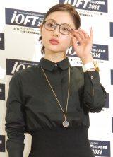 『第27回 日本 メガネ ベストドレッサー賞』の表彰式に出席した石原さとみ (C)ORICON NewS inc.