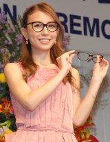 知的なメガネ姿を披露したMay J.=『第27回 日本 メガネ ベストドレッサー賞』表彰式 (C)ORICON NewS inc.