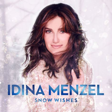 イディナ・メンゼルのクリスマス&ウィンターアルバム『スノー・ウィッシズ〜雪に願いを』(11月12日発売)