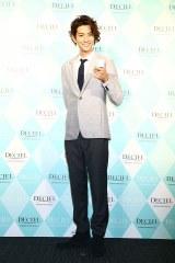 女性用化粧品『DECIEL』新商品発表会に出席した三浦翔平