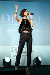 女性用化粧品『DECIEL』新商品発表会の模様