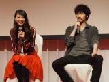 武井咲(左)と綾野剛(右)がダブル主演。フジテレビ系『すべてがFになる』(C)ORICON NewS inc.