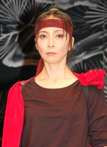 舞台『おんな武将 NAOTORA(直虎)』の取材会に出席した有森也実 (C)ORICON NewS inc.