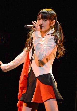 57thシングル「TIKI BUN/シャバダバ ドゥ/見返り美人」リリースイベントを行ったモーニング娘。'14・道重さゆみ (C)ORICON NewS inc.