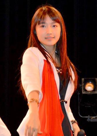 57thシングル「TIKI BUN/シャバダバ ドゥ/見返り美人」リリースイベントを行ったモーニング娘。'14・鞘師里保 (C)ORICON NewS inc.