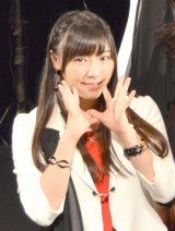 57thシングル「TIKI BUN/シャバダバ ドゥ/見返り美人」リリースイベントを行ったモーニング娘。'14・譜久村聖 (C)ORICON NewS inc.