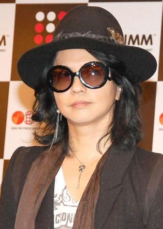 海外進出への展望を明かすしたVAMPS・HYDE=音楽イベント『JAPAN NIGHT in TIMM』記者会見 (C)ORICON NewS inc.