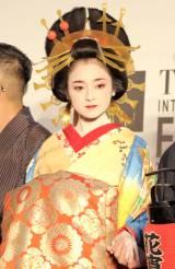 『第27回東京国際映画祭』レッドカーペットに登場した安達祐実 (C)ORICON NewS inc.