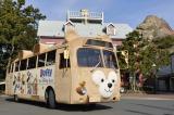 ふわふわの「ダッフィーバス」に乗車できるプランが登場! (C)Disney