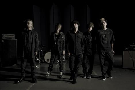 初ライブを開催することになったINKT(左から)mACKAz、SASSY、KOKI、kissy、Kei