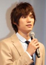 『au発表会 2014Winter』に出席した福士蒼汰 (C)ORICON NewS inc.