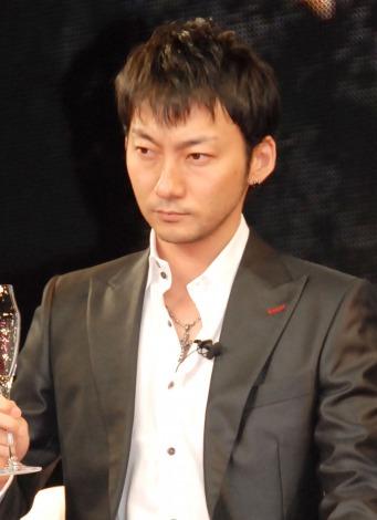 東映Vシネマ25周年記念作品『25 NIJYU-GO』公開直前緊急ニコ生会見に出席した波岡一喜 (C)ORICON NewS inc.