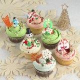 「マグノリアベーカリー」のクリスマスカップケーキが登場!