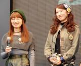 矢口真里のテレビ復帰に言及した元モーニング娘。(左から)保田圭、飯田圭織 (C)ORICON NewS inc.