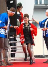 映画『エクスペンダブルズ3』PRイベントに出席した石川梨華 (C)ORICON NewS inc.