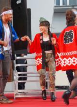 映画『エクスペンダブルズ3』PRイベントに出席した小川麻琴 (C)ORICON NewS inc.