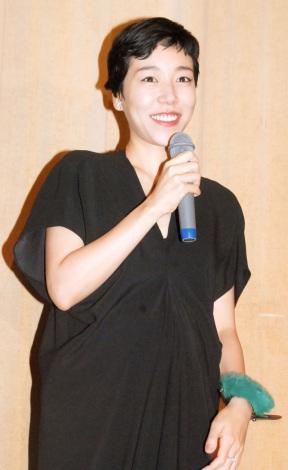 結婚&妊娠が明らかになった安藤桃子(写真=今月21日に撮影) (C)ORICON NewS inc.