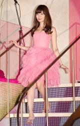 ピンクのドレスがキュートなこじはる (C)ORICON NewS inc.