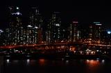 ホテル『アロフト・ソウル江南』 スイートルームのテラスから見た夜景の様子(C)oricon ME inc.