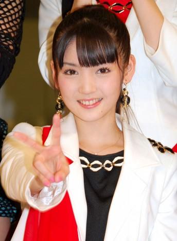 新アルバム『14章〜The message〜』発売記念イベントを行ったモーニング娘。'14・道重さゆみ (C)ORICON NewS inc.