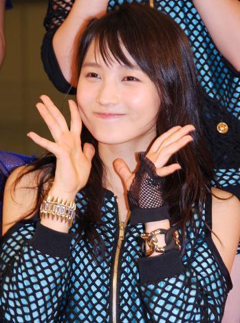 新アルバム『14章〜The message〜』発売記念イベントを行ったモーニング娘。'14・鞘師里保