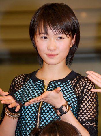 新アルバム『14章〜The message〜』発売記念イベントを行ったモーニング娘。'14・工藤遥