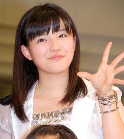 新アルバム『14章〜The message〜』発売記念イベントを行ったモーニング娘。'14・鈴木香音