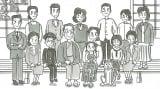 鉄拳×吉田山田が制作するショートムービー『年賀のキヅナ』(C)JAPAN POST CO.,Ltd. All Rights Reserved.