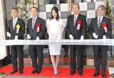 商業施設『KIRARITO GINZA』テープカットセレモニーに出席した佐々木希 (C)ORICON NewS inc.