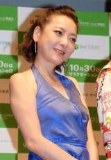 日本リラクゼーション業協会『リラクゼーションの日』記念イベントに出席した西川史子